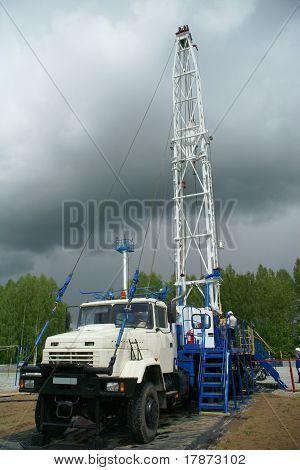 Plataforma de perforación, industria petrolera