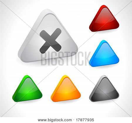 Color 3d buttons for web.