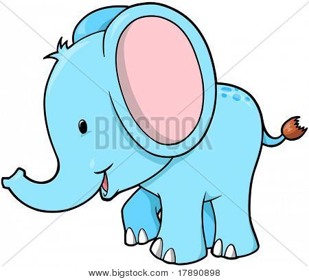 Elefante Vector Illustration