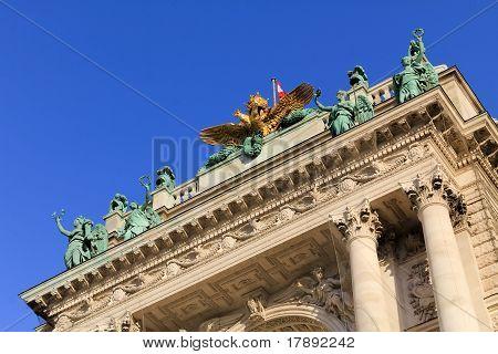 A Part Of Hofburg, Vienna