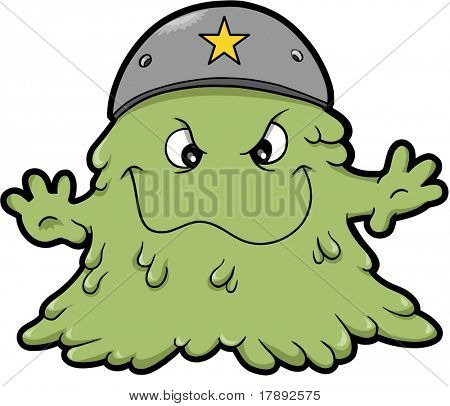 Booger Vector Illustration