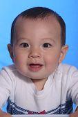 A Cute Little Baby Boy. poster