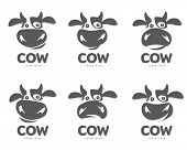 Cow Logo Template poster