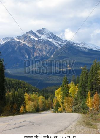 Pyramid Mountain - Jasper National Park, Alberta, Canada