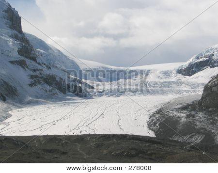 Athabasca Glacier  Jasper National Park, Alberta, Canada