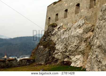 Wall Of The Ancient Castle