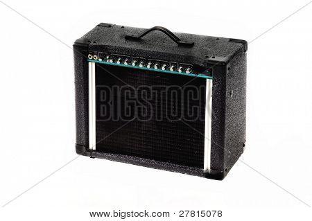 Classic electric guitar amplifier