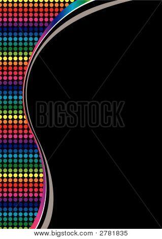 Rainbow Curve Blk