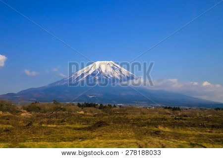 Beautiful Mount Fuji Japan Mount