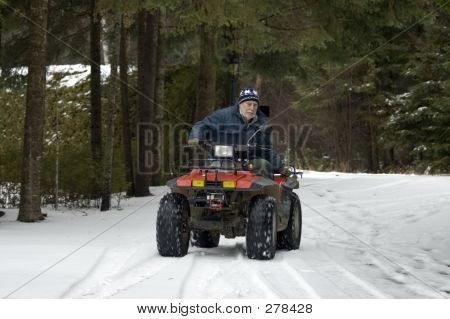 Atv Quad Senior Rider