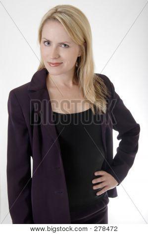 Confident Business Woman