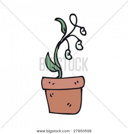 Vector y foto Dibujo Original De Una Planta De  Bigstock