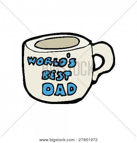 taza del día del padre