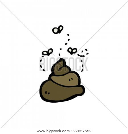 poop cartoon