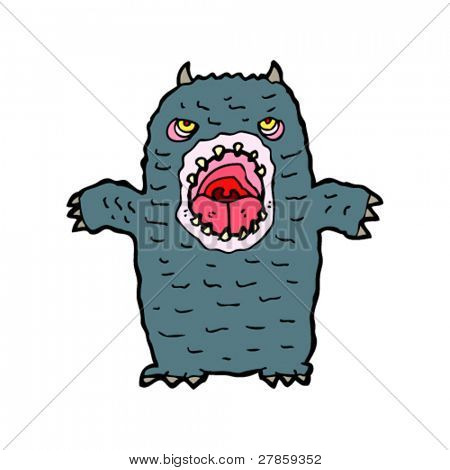 horrid monster cartoon