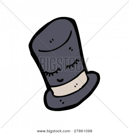 magic top hat cartoon