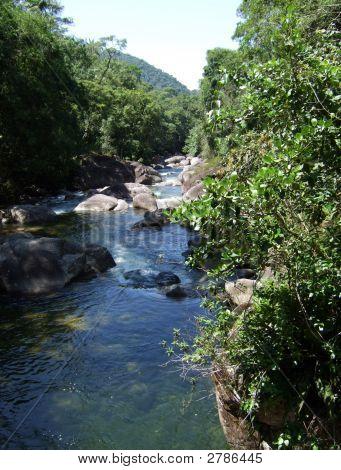 Waterfall In Itatiaia