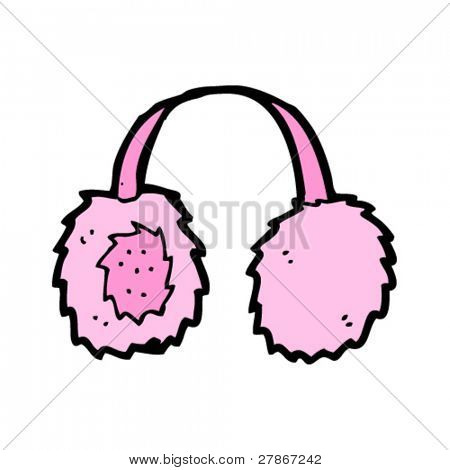 earmuffs cartoon