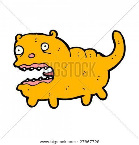 hideous fat cat cartoon