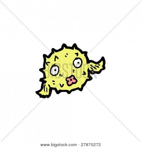 puffer fish cartoon