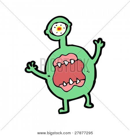 hideous monster cartoon