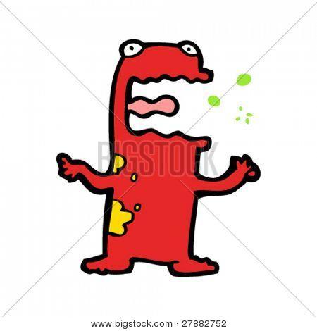 poison frog cartoon
