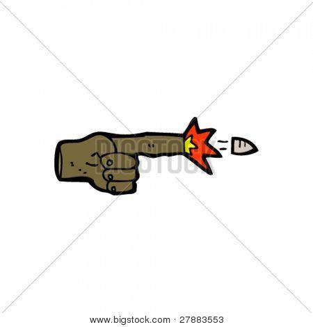 Постер, плакат: Секретное оружие мультфильм, холст на подрамнике