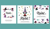 Vector Illustration With Carnival And Celebratory Objects. Handwritten Lettering Carnival. Template  poster