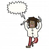 picture of madman  - cartoon crazy madman - JPG