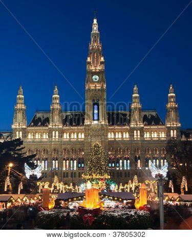 Mercado de Navidad en Viena, Austria