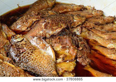 Javan Barbs Boiled With Sweet And Salt Sauce