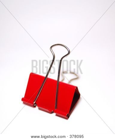 Red Paper Clasp
