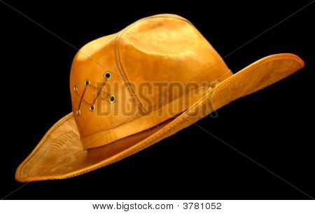 Cowboy Hat - Black Background
