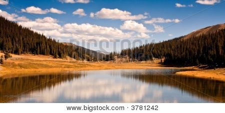 Poudre Lake In Rocky Mountain National Park