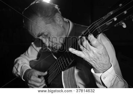 Old Guitarist.