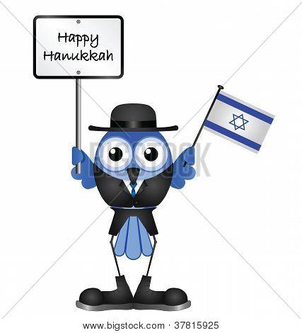 Bird Hanukkah