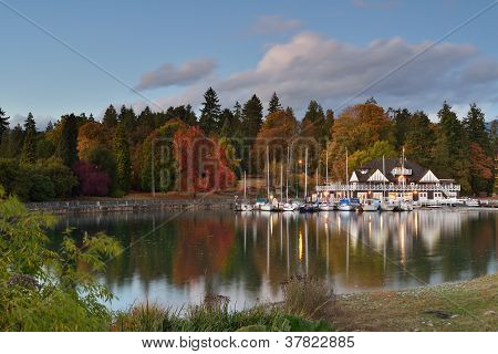 Vancouver Rowing Club In Stanley Park