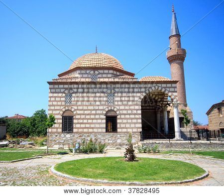 Mosque and minaret of Iznik