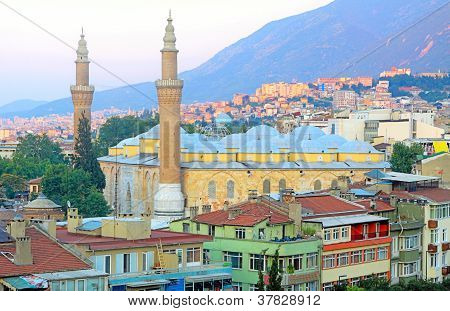 Bursa Grand Mosque or Ulu Cami