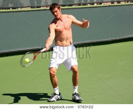 Marat Safin Playing Tennis
