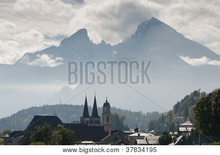 Berchtesgaden With Watzmann