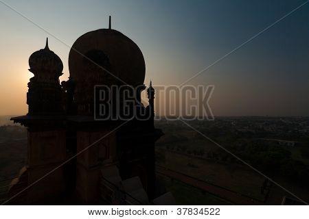 Dome Silhouette Gol Gumbaz Islamic Architecture