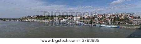 Panorama Of Belgrade, Serbia