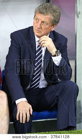 Head Coach Of England National Football Team Roy Hodgson
