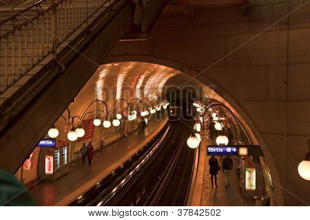 Metro of Paris