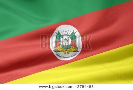 Flag Of Rio Grande Do Sul Brasilia