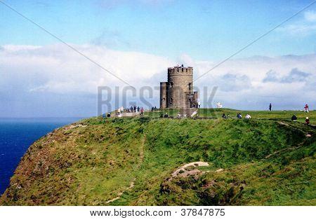 O'Brien's Castle Cliffs of Moher