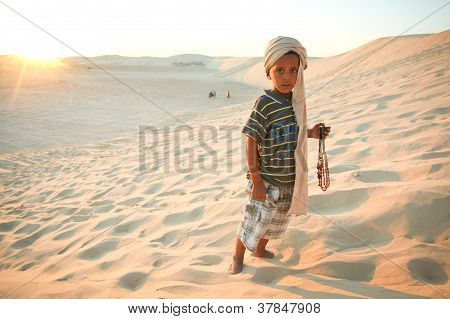 Tunisian boy