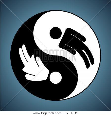 Yin & Yang - Man & Woman