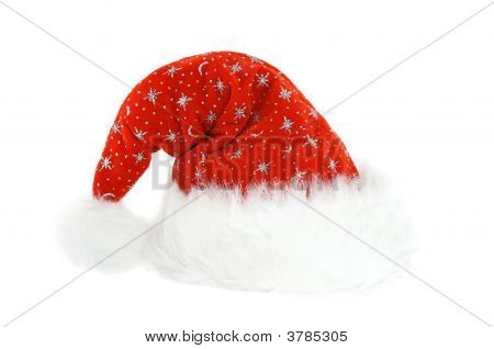 Santa\'S Hat Isolated On White